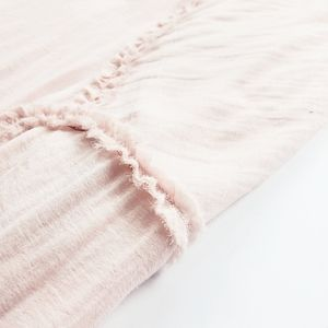 Blush Silk Blend Skater Skirt
